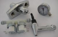 Краны, соленоидные и предохранительные клапана