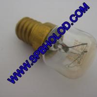 Лампочка термостойкая Е14 на 25 Ватт 230 Вольт до 300 гр.