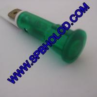 Индикатор Ø 10 мм зеленый