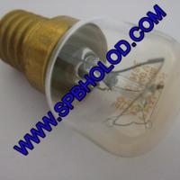 Лампочка термостойкая Е14 на 15 Ватт 230 Вольт до 300 гр.